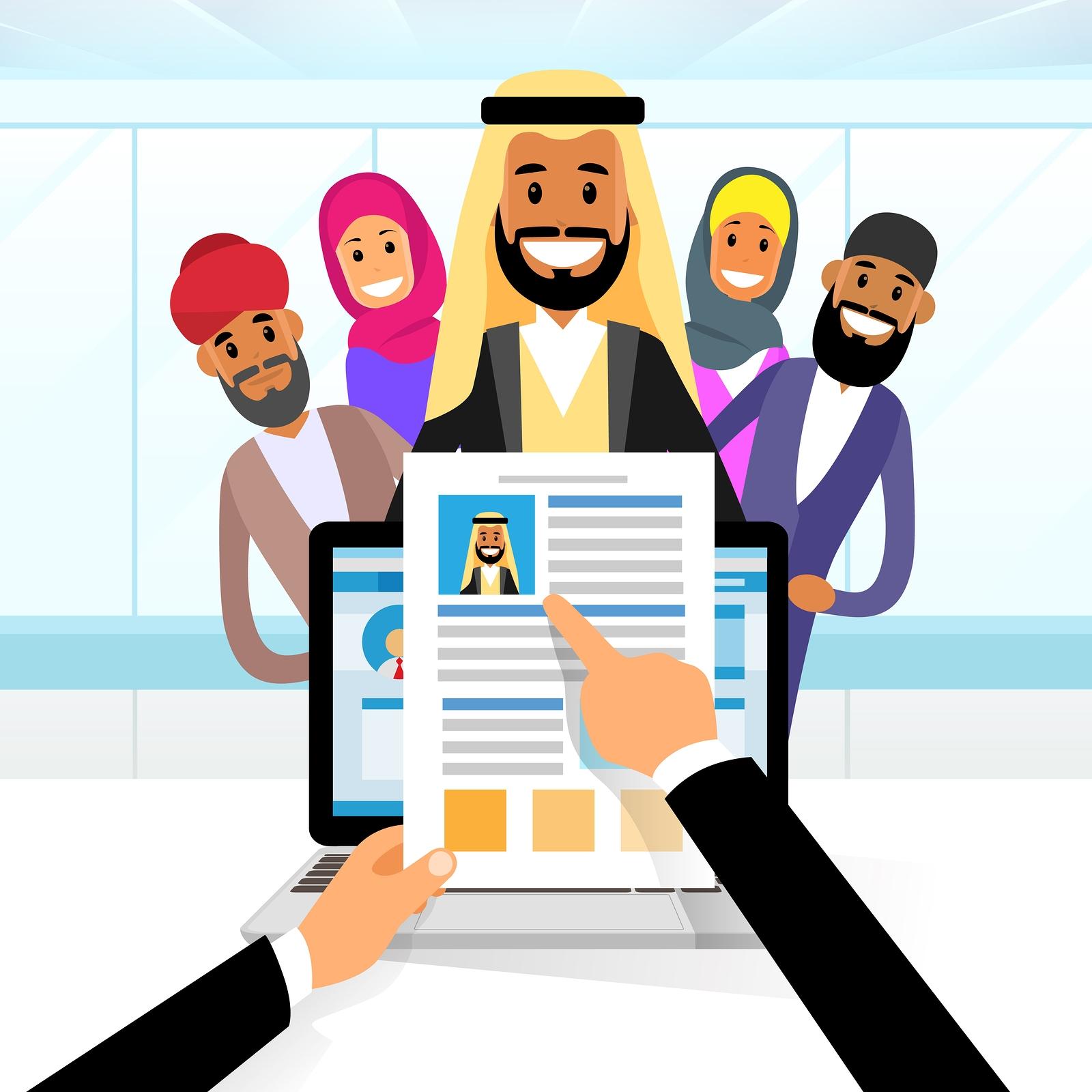 bigstock-arab-curriculum-vitae-recruitm-98155103