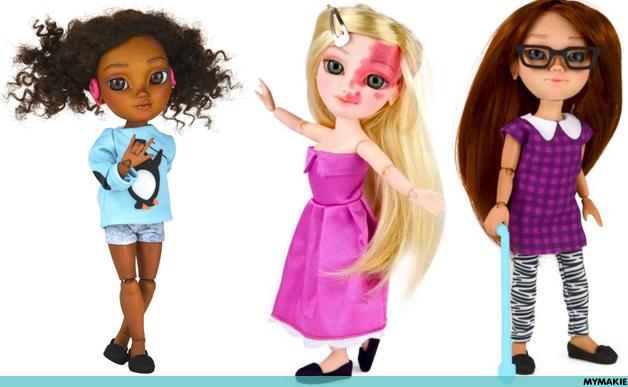 #ToyLikeMe : Des nouveaux jouets à notre image ?