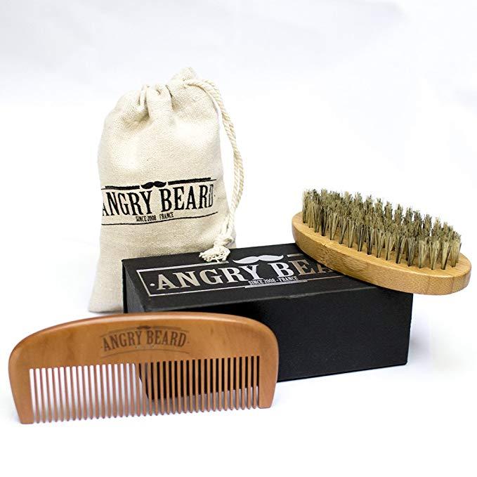 peigne-bois-brosse-sanglier-barbe
